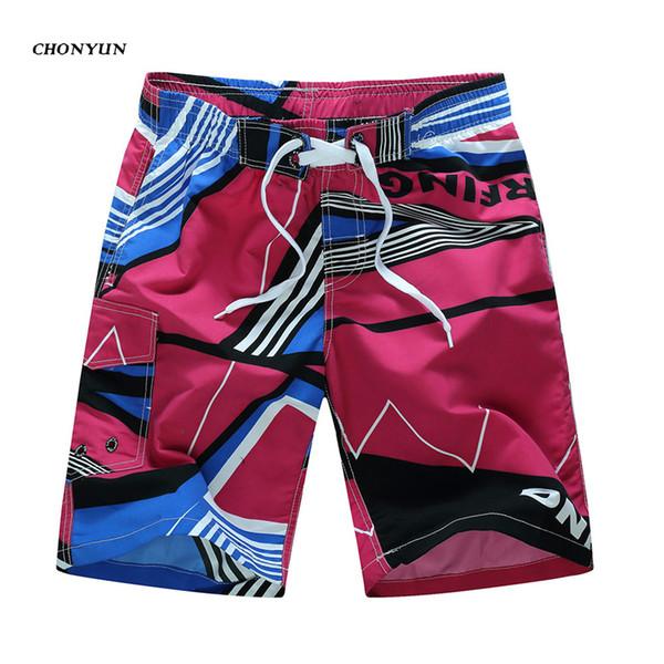 Nuevos pantalones cortos de playa para hombre Marca Surf Sport Boardshorts Traje de baño masculino Pantalones cortos deportivos de verano Bermudas de secado rápido Plus Tamaño 4XL 5XL 6XL