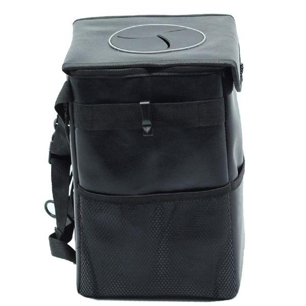 Portable Hang Storage Box Car Auto Garbage Accessory Black Holder Organizer