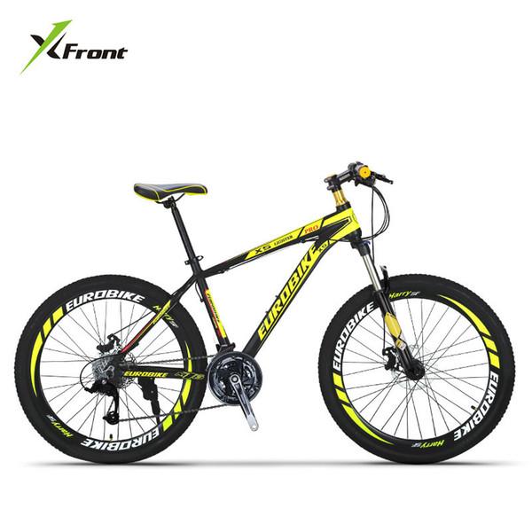 Nueva marca Mountain Bike Marco de aleación de aluminio 27 Velocidad Freno de disco Rueda de 26 pulgadas Bicicleta Deportes al aire libre Descenso MTB Bicicleta