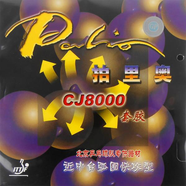 2x Palio CJ8000 Tırtıl-Masa Tenisi (PingPong) Süngerli Kauçuk (38-41Degrees)