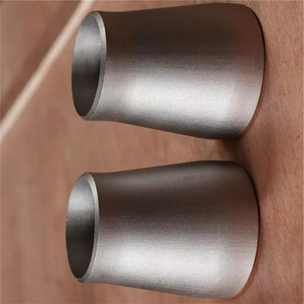 venda quente Redutor Concêntrico de alta qualidade titanium encaixe de tubulação de titânio redutor excêntrico China bom preço gr2 cotovelo de Titânio