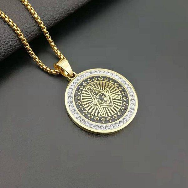 Gold masonic