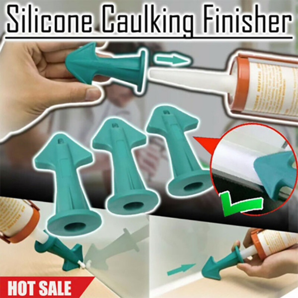 top popular Scraper 3 in 1 Silicone Caulking Finisher Tool Nozzle Spatulas Filler Spreader Tool Scraper Automobiles & Motorcycles 2021