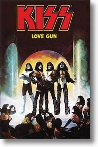 KISS POSTER Love Gun RARE NEW HOT wall decor Art Silk Print Poster 45