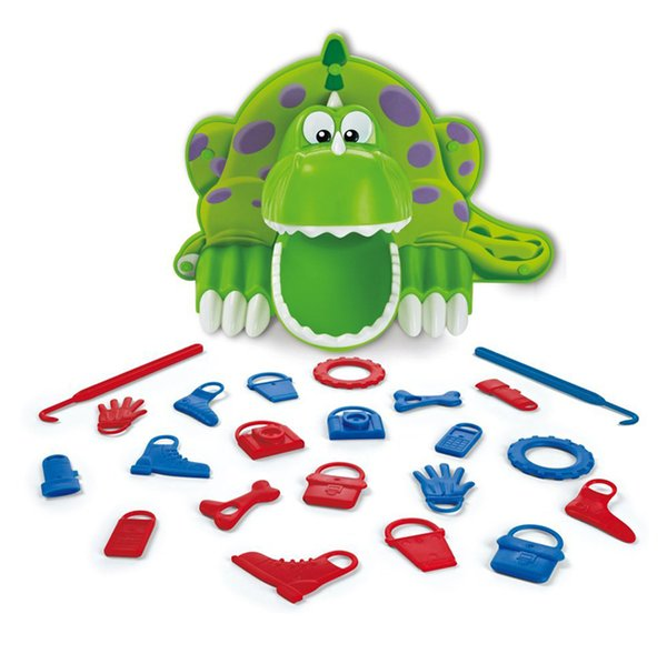 Hungry big mouth dinosaur dinner board Novelty games decompression interactive children's toys birthday Christmas gifts Gag cheap funny Toys