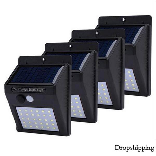 LED lumière solaire capteur de mouvement extérieur jardin lumière décoration clôture escalier voie cour sécurité éclairage solaire lampe