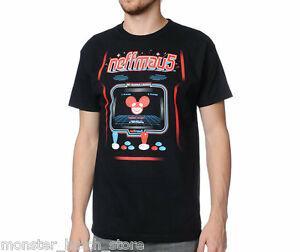 MARCA NOVA COM TAG Neff x Deadmau5 ARCADE Camiseta BLAFunny MEDIUM-XXLARGE RARE