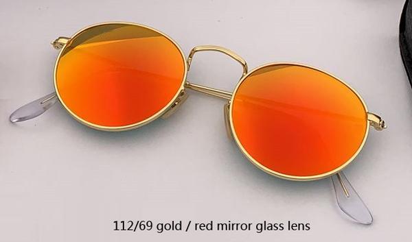 Espelho de ouro / vermelho 112/69
