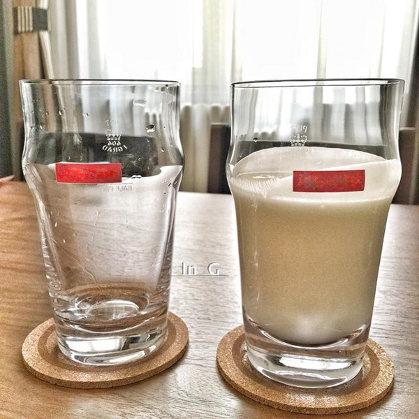 Moda yüksek kaliteli ev sup pint cam adamın cam bira cam ofis su bardağı Drinkware VIP hediye