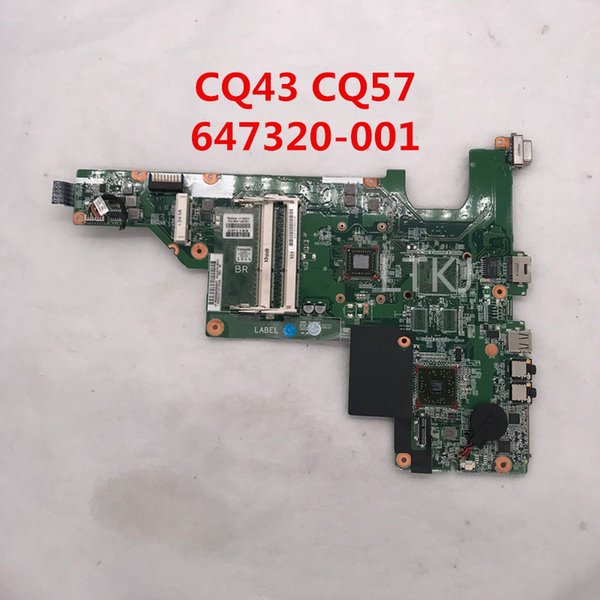High quality For CQ43 430 630 CQ57 Laptop motherboard 647320-001 647320-501 647320-601 E350 AMD DDR3 100% full Tested
