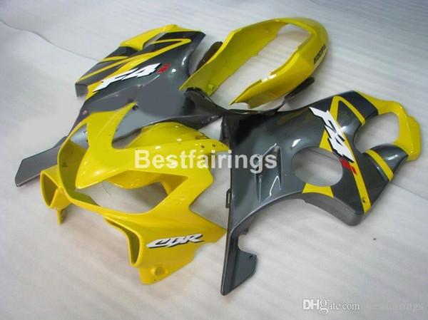 Injection molding fairing kit for Honda CBR600 F4I 04 05 06 07 yellow black fairings set CBR600 F4I 2004-2007 IY03
