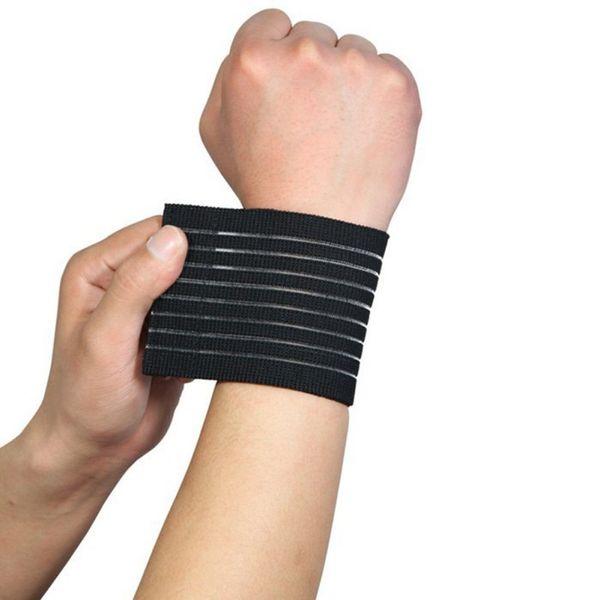 1 PC Sports Wristband Tape Elastic Wrist Gym Brace Strap Bandage Elastic material Support Wrap