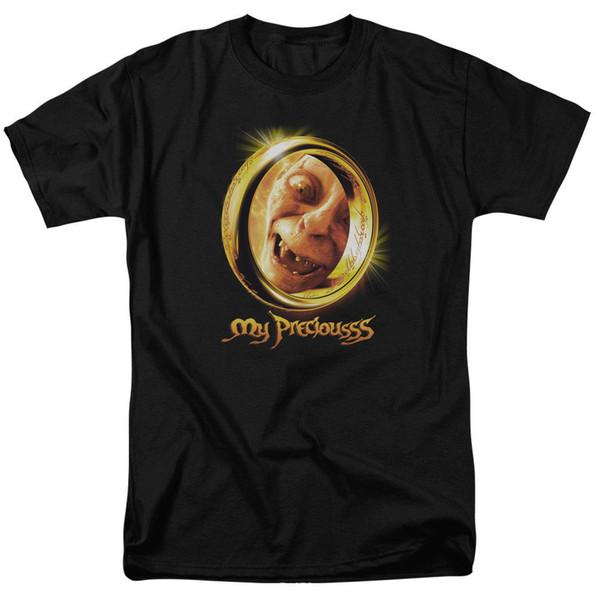 Властелин колец мои драгоценные футболки для мужчин женщин или детей смешно бесплатная доставка мужская повседневная футболка