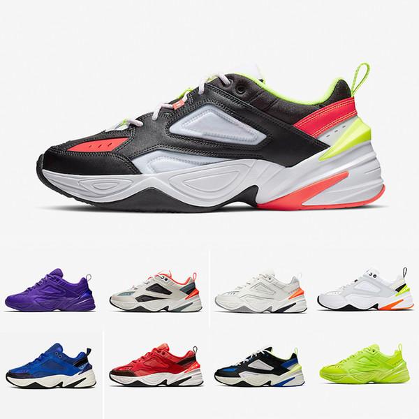 2019 NEW Monarch M2K Tekno Shoes Monarch 4 Designer Zapatillas Running Shoes Mens Womens Classic Sneakers des chassures cheap 36-45