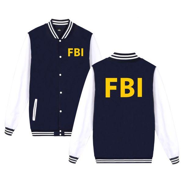 Großhandel FBI Print Mode Baseball Jacke Männer Frauen Sweatshirts Mäntel Tops Casual Langarm Hoodies Jacken Plus Größe 4xl Von Afternan, $37.2 Auf