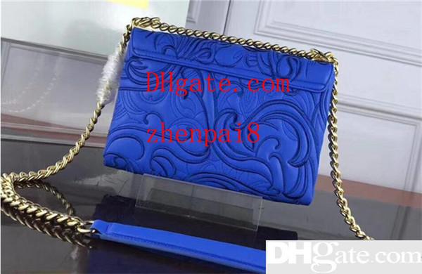 Bolsa de couro de alta qualidade New women s saco da forma da cadeia totes bolsa de ombro tamanho 25 CM frete grátis
