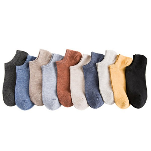 Short Stockings Spring And Summer New Candy Color Ladies Socks Cotton Literary Wind Solid Color Socks Factory Direct Sales