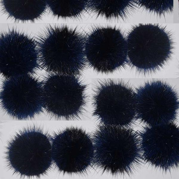 Natural Mink Fur Ball 6cm DIY Fur Material home textile material Genuine Mink Hair Pompoms Real Fur Bobbles