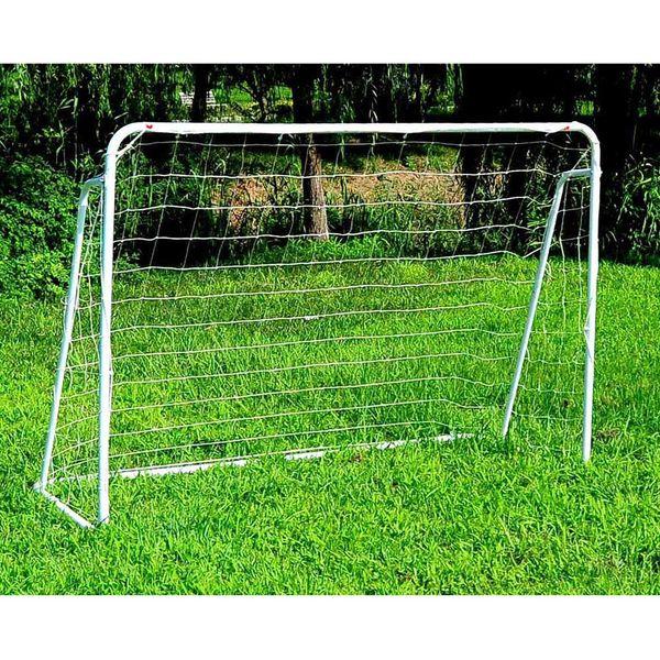 365*182*120CM Steel Tube Soccer Goal Training Set White