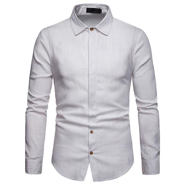 Kaufen Sie im Großhandel Das Weiße Hemd Der Männer 2019 zum