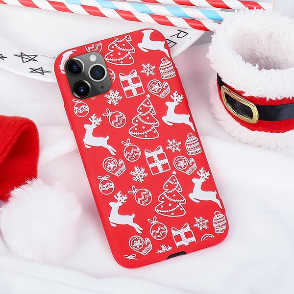 2019for iphone x 6 6 7 8 plu 5 x max xr tpu fa hion merry chri tma painted phone ca e iphone cover hell
