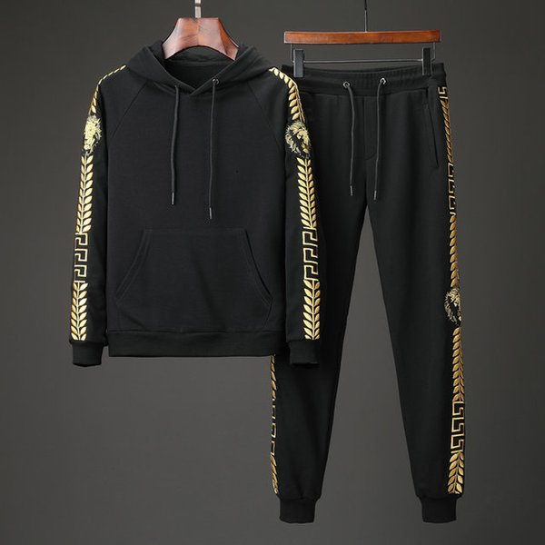 f22 2019 Mens Tracksuits Sports and leisure suits men fashion new casual wear spring and autumn spring Korean