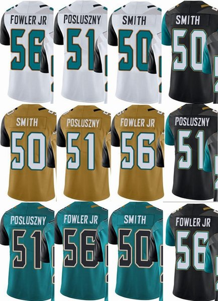 brand new a2a1b afcdd 2019 Jacksonville Jaguars Custom Men/Youth/Women #50 Telvin Smith 51 Paul  Posluszny Dante Fowler Jr Vapor Untouchable Limited/Rush/Elite Jersey From  ...