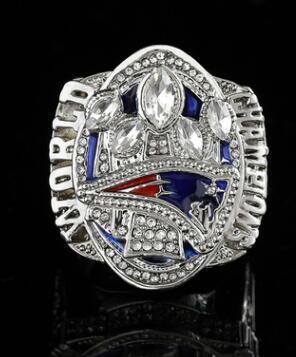Wholesale New 2017 Patriot Super Bowl 5th Crown Champion Ring Men's Jewelry Accessories