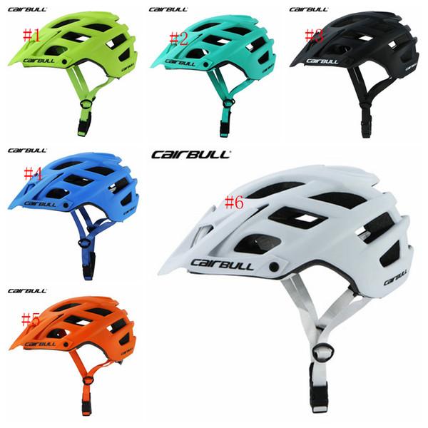 CAIRBULL Bisiklet Kaskları EPS Ultralight Interally Molded Aerodinamik Bisiklet Kaskları Ayrılabilir Visor Dağ güvenliği Bisiklet Kask