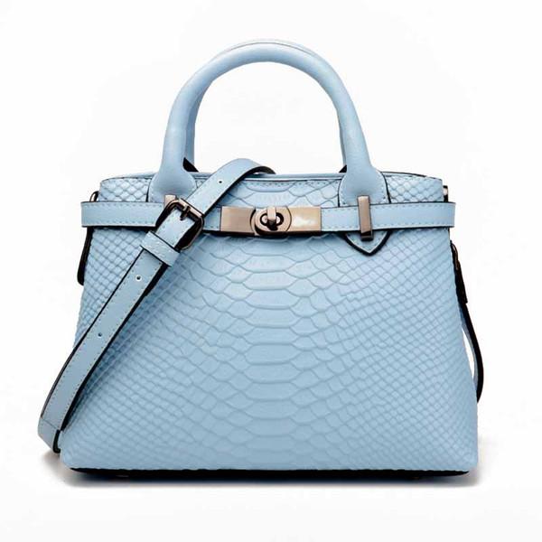 Women's Elegant Split Leather Fashion Trend Solid Color Exquisite Handbags Dignified Atmosphere Multi-Function Travel Handbag