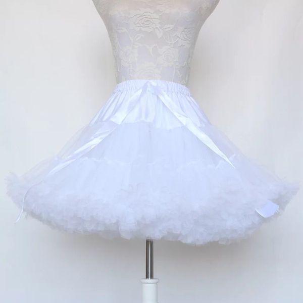 Robe de bal jupon cosplay swing robe courte jupon jupon lolita jupe tutu ballet rockabilly crinoline pour robe de mariage occasion