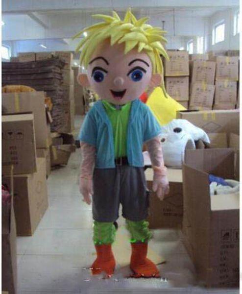 2019 Carnival vestido novo hadsome Boy Mascot Costume Party Fantasia Outfit gratuito Shipping0