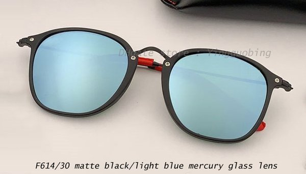 F614/30 matte black/light blue mercury