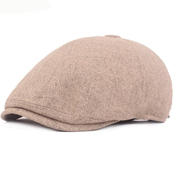 New Women Men Chic Artist Retro Linen Summer Spring French Beret Beanie Hat Cap