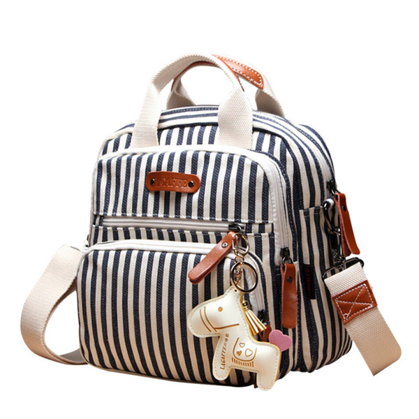 Diaper bag Fashion travel Backpack For Mom,New Cartoon Horse Decorate Mummy Bag for Baby,Top Quality Baby Nappy Bags