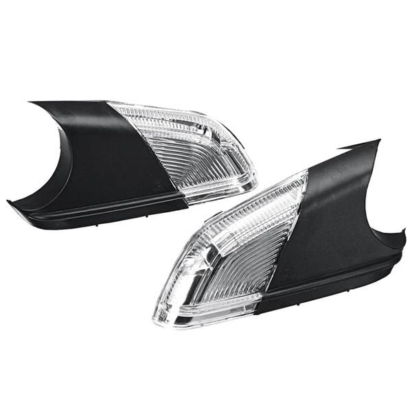 Car Rearview Mirror Side Wing Mirror LED Turn Signal Light for Skoda Octavia 2 A5 2004-2008 1Z0949101C 1Z0949102C