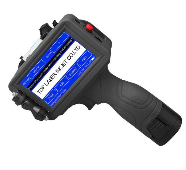 Newest LED Screen Touch-Screen Handheld Printer 600DPI Intelligent USB QR Code Inkjet Label Printer High Quality Coding Machine