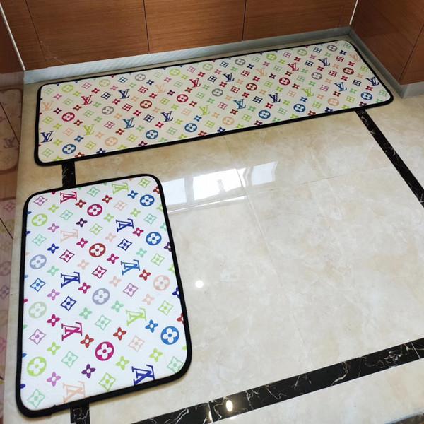 Tapis de sol Creative bande polyvalente série nordique style simple cuisine 2 jeux salle 2 jeux pad balcon lit porte coulissante tapis de lit de bain
