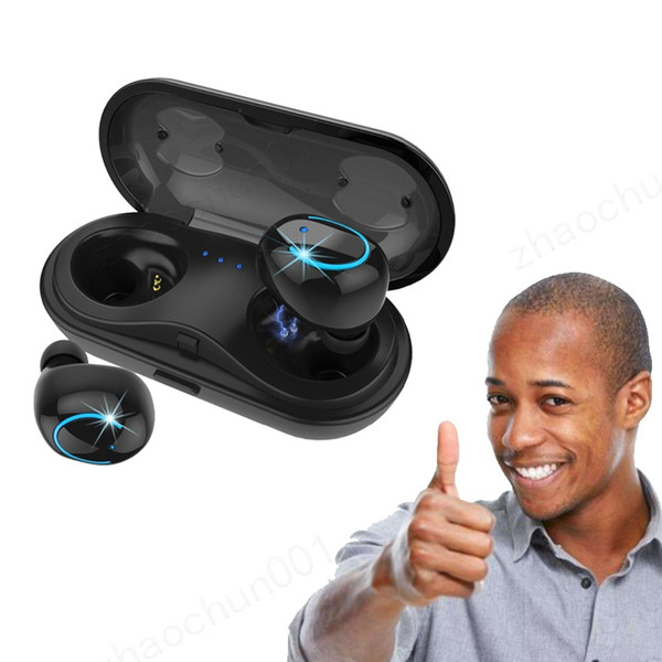 HBQ Q18 Tws Bluetooth Earbuds Mini Earphone Best Wireless Headphones Cordless Sport Bluetooth Headset with Charger Box for Phone