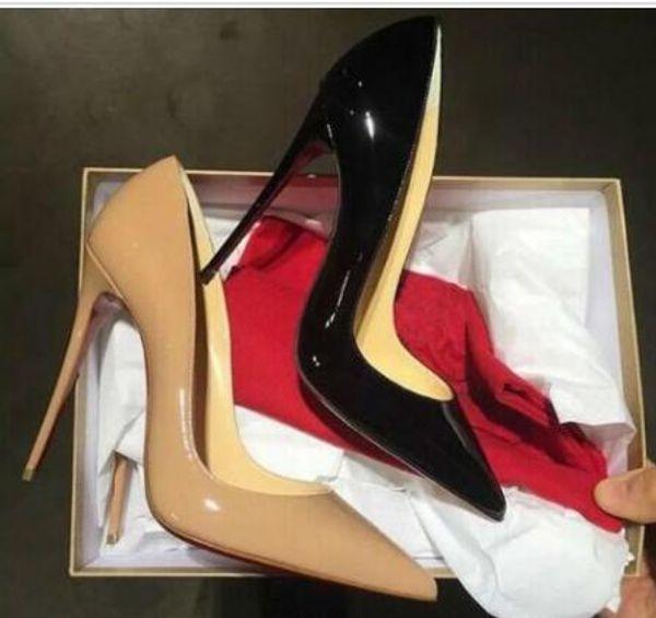 Бесплатная доставка So Kate Styles 8 см 10 см 12 см туфли на высоких каблуках обнаженного цвета из натуральной кожи с острым носом туфли на высоком каблуке резиновые свадебные туфли