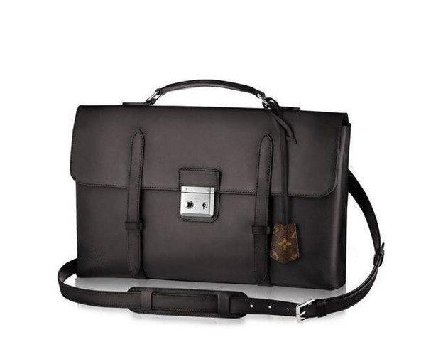Cartable M50452 Homens Messenger Bags Shoulder Belt Bag Totes Portfolio Pastas Duffle da bagagem