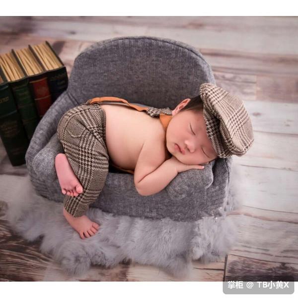 Neonato Fotografia Baby Divano Mini Posing Seggiolini per neonati New Moon Photo Props Soft Kids Chair Unisex in posa cesti per divani