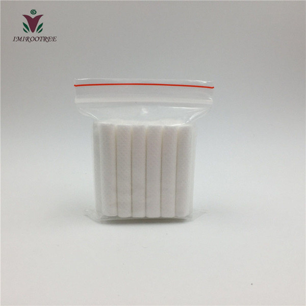 2017 Hot Products 1000pcs/lot High Quality IMIROO Replacement Cotton Wicks 8x51mm for Air Refresher and Nasal Inhaler Sticks