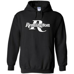 Moletom Com Capuz Logotipo Remington Branco ª Emenda Pro Gun Direitos Hip Hop Pistola