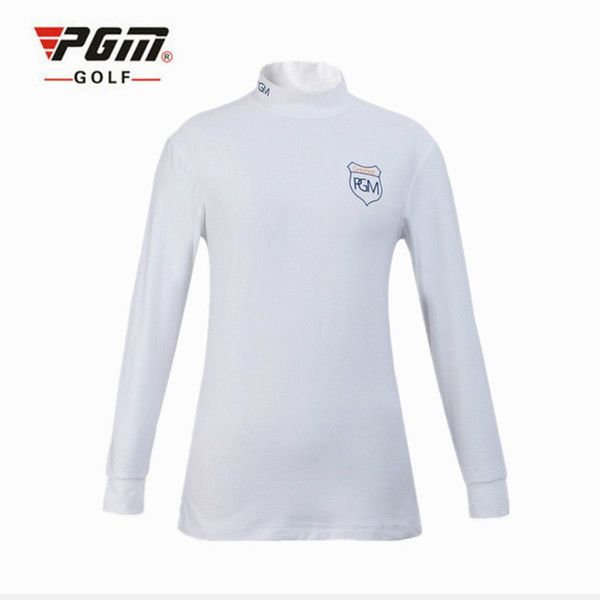 PGM Long Sleeve Golf T-shirts Women Professional Golf Shirts Sportswear Solid Elastic Sport Shirts Women Training Clothing