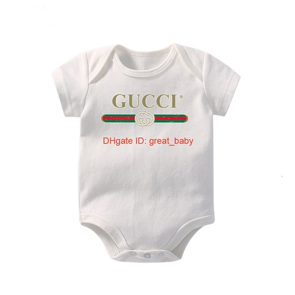 Infant Kids short Sleeve Jumpsuits Baby Boy Clothes Newborn Kids Cotton Romper 0926612