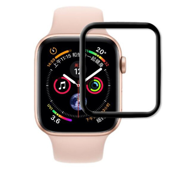 Quality Tempered Glass Film Screen Protector For iwatch apple watch S3 S4 38MM 42MM 40MM 44mm 9H 3D Explosion Proof HD Screen Film BFM013