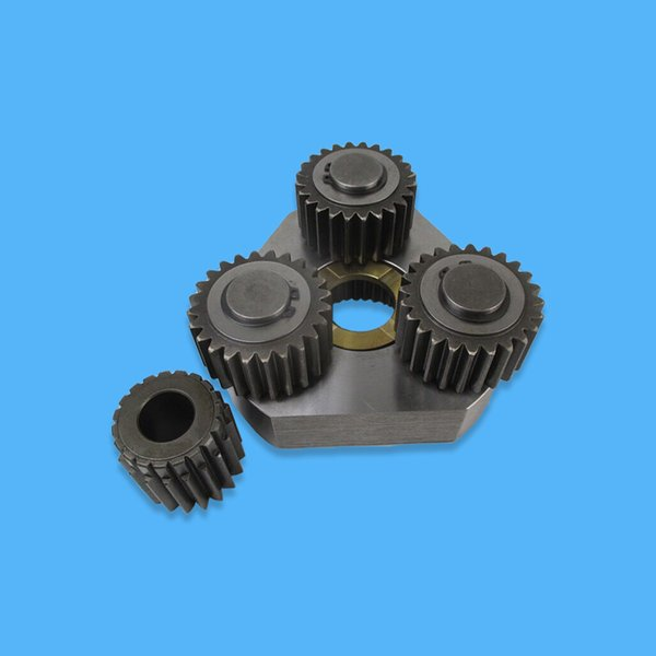 Komatsu Excavator PC60-7 PC70-7 PC75R-2 PC75US-3 PC75UU-2 PC75UU-3 Swing Planetary Carrier Assembly 201-26-71130 for Swing Reduction Gearbox