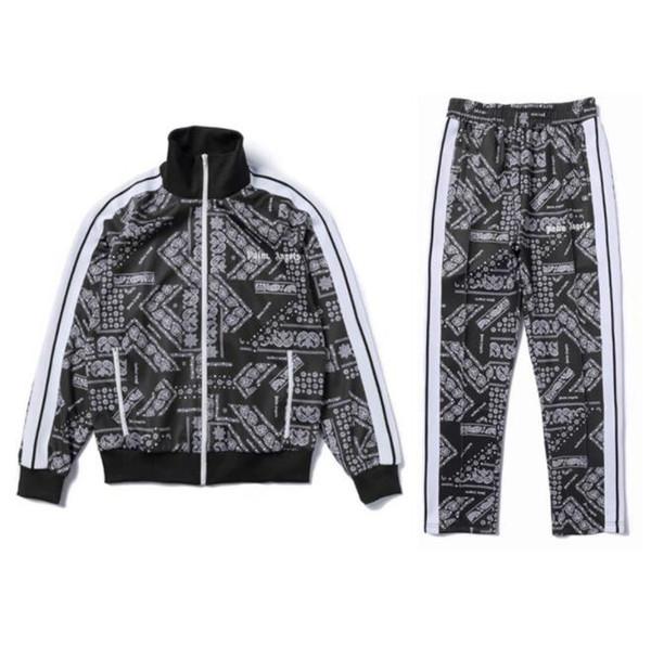 2020 chándales de diseño para hombre con la palma Ángeles printted caliente Marca pista trajes para mujeres de los hombres de alta calidad de Streetwear Hombres Mujeres juegos de la ropa