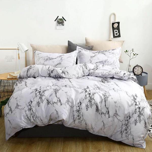 3 stücke Polyester Faser Bettlaken Bettbezug Sets Bettwäsche-sets Bettbezug Kissenbezug Bettbezug Luxus Heimtextilien Geschenk